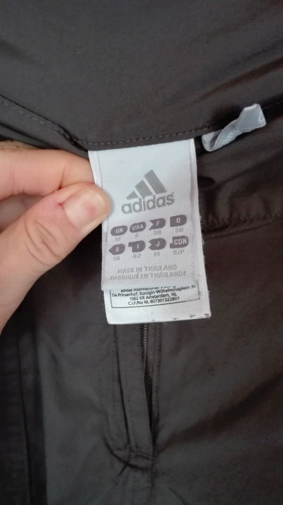 ADIDAS climaproof spodnie sportowe turystyczne M 38...