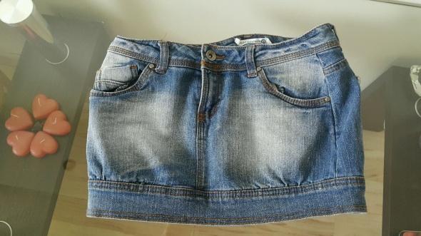 Dżinsowa spódnica