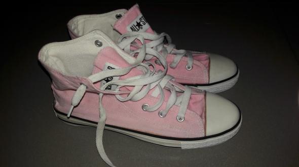 Różowe trampki Converse roz 38