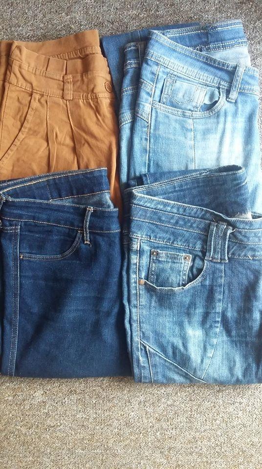 Spodnie różne każde po 10zł
