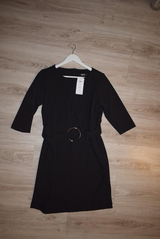 nowa czarna sukienka 42 XL
