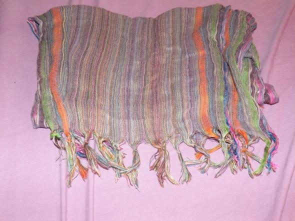 Apaszka kolorowa paski