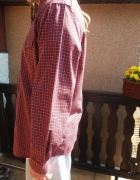 Koszula męska r XL krata nowa...