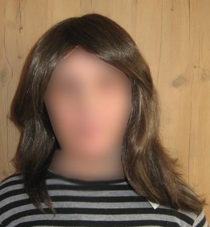 Peruka długi włos 2