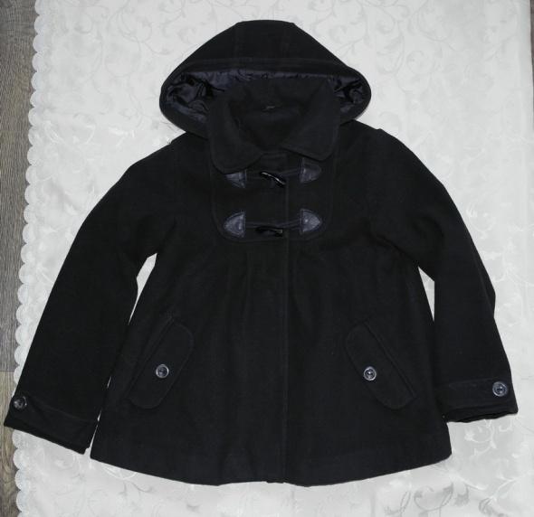 Elegancka kurtka dla modnisi czarna 140 152