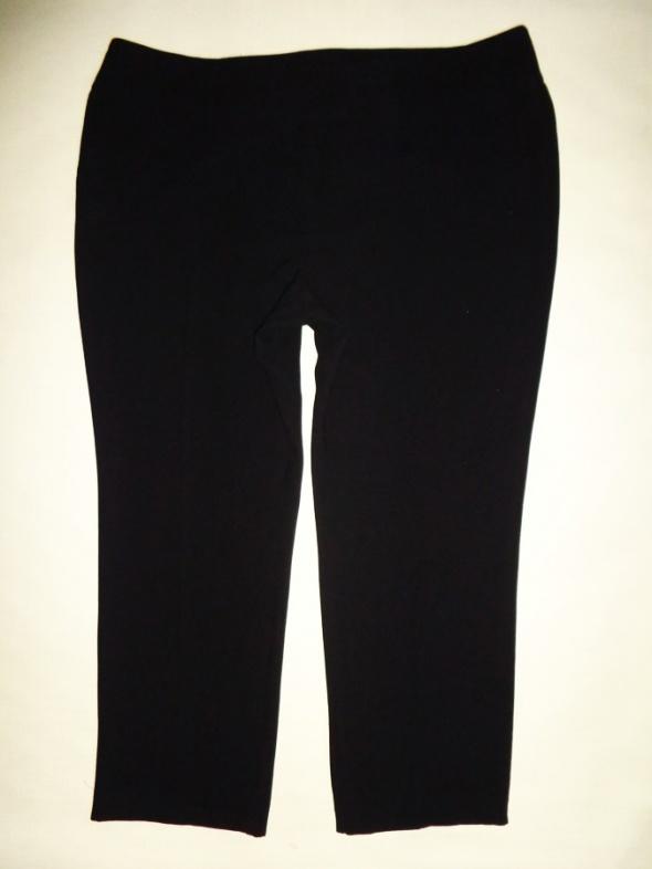 EVANS czarne eleganckie zwężane spodnie 50