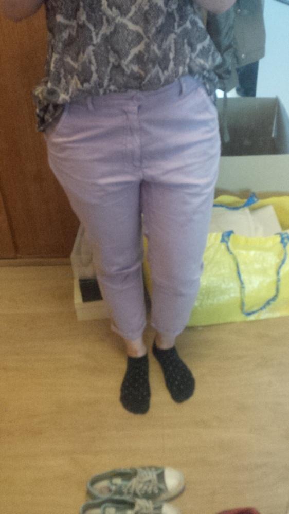 Cienkie spodnie bermudy