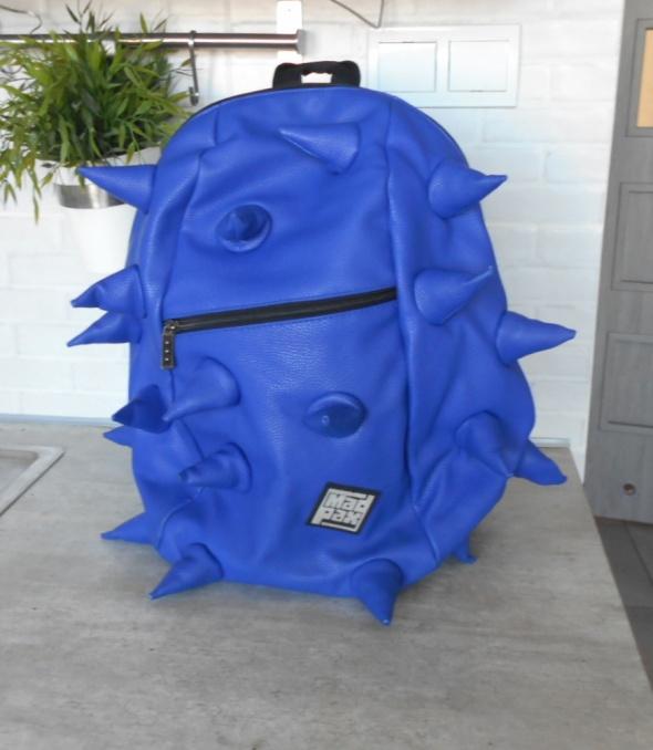 Mad Pax plecak Spike niebieski kolce