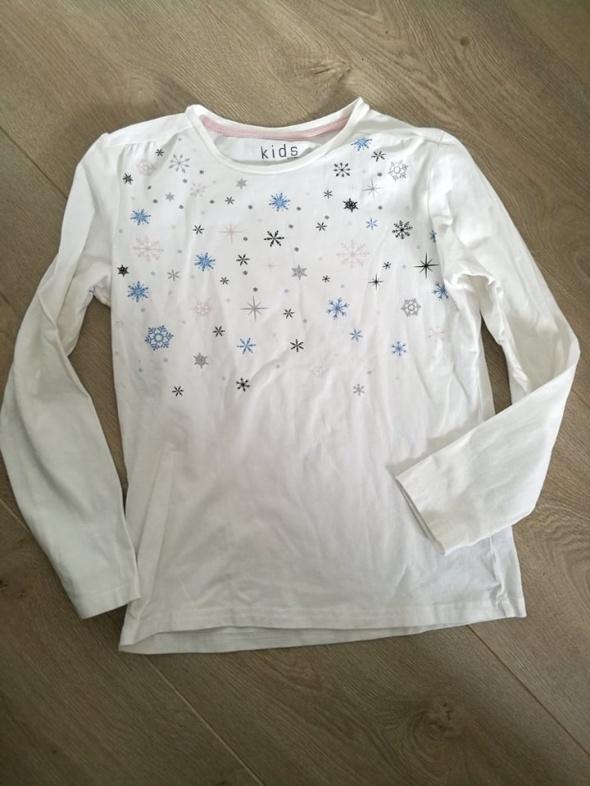 biała dziewczęca Bluzka 146 152 Tchibo