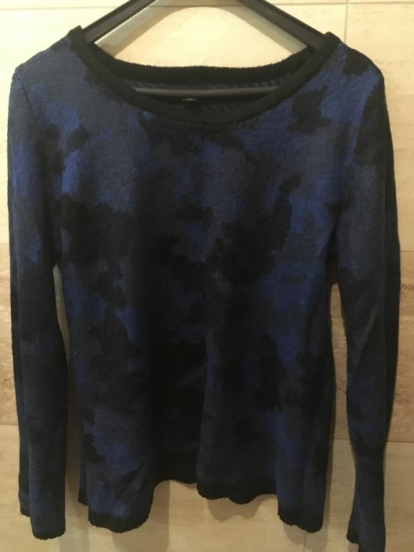 Swetry Czarno granatowy sweter 42 XL new yorker