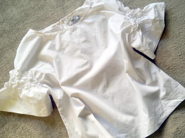 Reserved biala bluzka koszulowa...