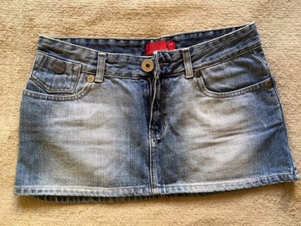 CROSS spodnica jeans mini