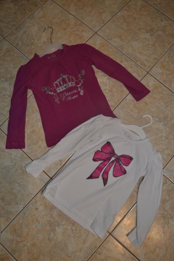 2 pak Tchibo bluzki 110cm 116cm
