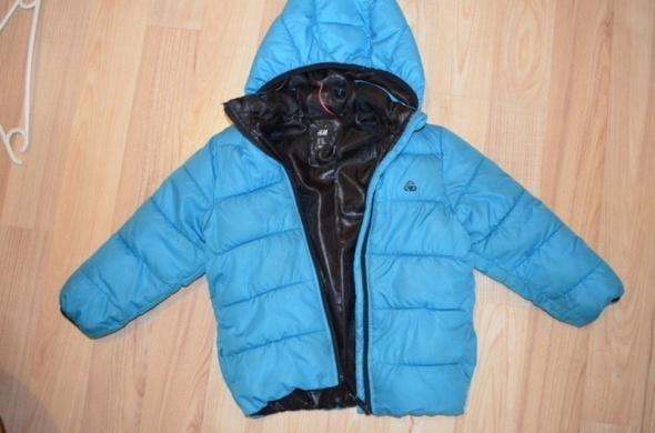 Niebieska kurtka zimowa dla chłopca