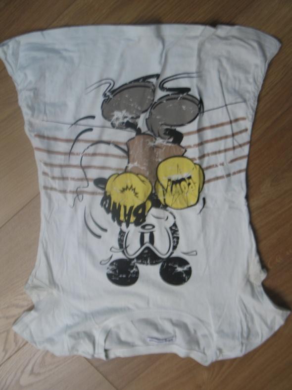 Biała bluzka z Myszką Miki...