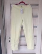 Cytrynowe spodnie