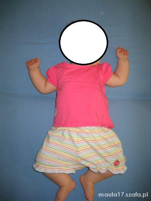 Ubranka letnie dla dziewczynki 0 do 3 miesięcy