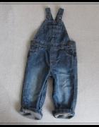 Spodnie ogrodniczki dla chłopca 12 do 18 mies rozmiar ok 86...