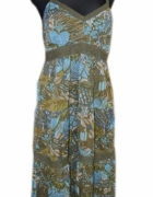 78 długa sukienka maxi 44...