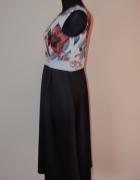 1241 FEVER FISH modna elegancka sukienka 40...