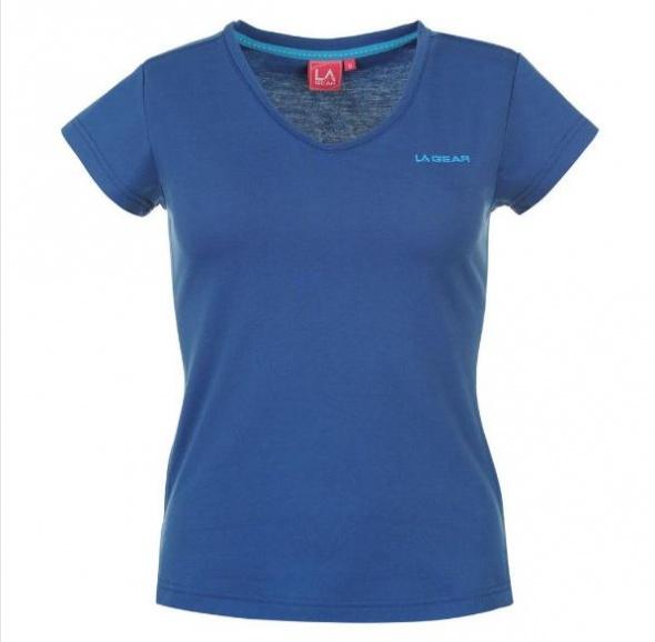 Niebieska koszulka LA Gear 34 XS
