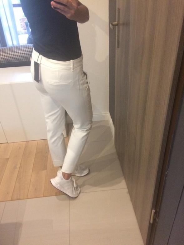 Nowe białe spodnie chinosy Zara 38 M...