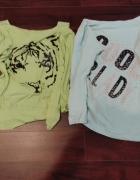 Dwie bluzeczki...