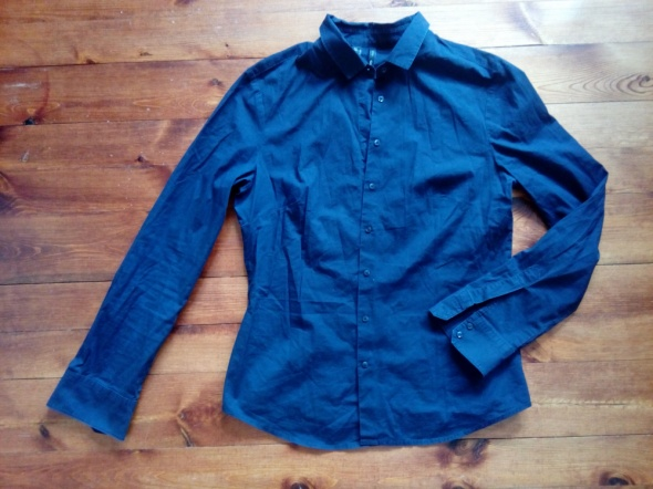 Granatowa koszula M