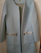 płaszczyk kardigan z pianki niebieski babyblue NOWY NIEUŻYWANY...