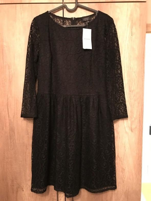 RESERVED nowa sukienka koronka 38...