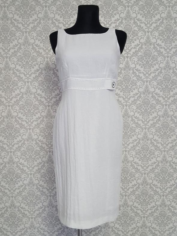 Suknie i sukienki biała sukienka Moore