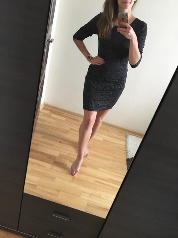 d7699f0a Carry sukienka srebrna nitka zip obcisła sexy L w Suknie i sukienki ...