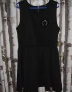H&M DIVIDED Sukienka czarna 40