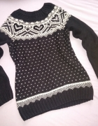 PAPAYA sweter M 38 akryl