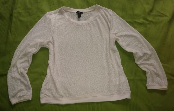 H&M koronkowa bluzka M 38