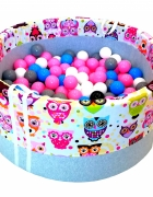 Suchy basenik z piłeczkami 250 sztdla dzieci...