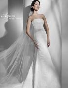 Koronkowa suknia ślubna...