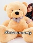 Miś PLUSZOWY DUŻY GIGANT 100 cm PLUSZAK teddy bear...
