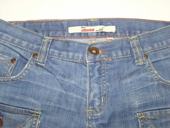 Jeansowe szorty spodenki ONLY...