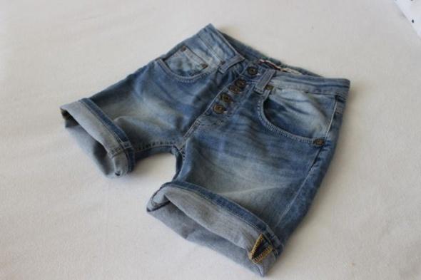 Spodenki niebieskie spodenki jeansowe xs