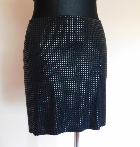 Spódnice Morgan czarna sexy spódnica 36 38