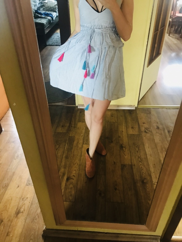 Letnia sukienka zara nowa