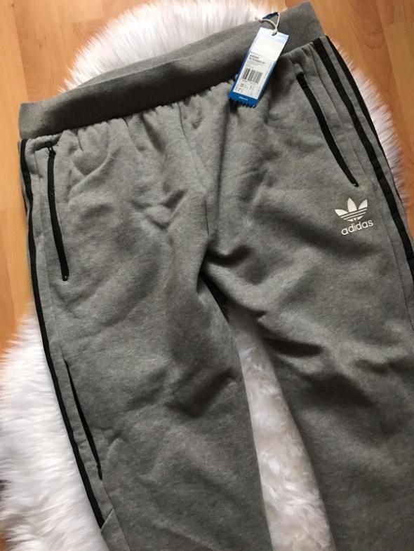 Szare dresy Adidas NOWE