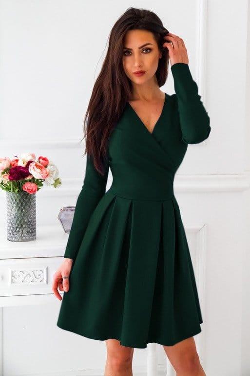 Butelkowa sukienka VUBU s36