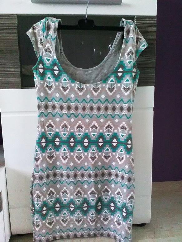 Suknie i sukienki SUKIENKA W AZTECKI WZÓR