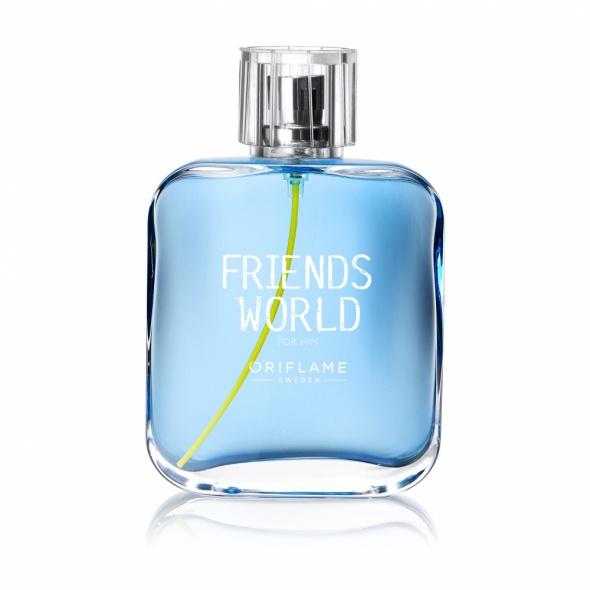 Nowa woda Friends World dla mezczyzn...