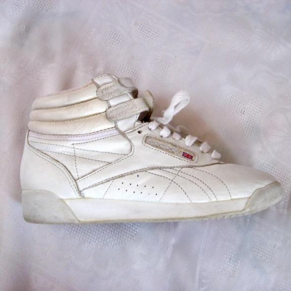 Białe Adidasy Reebok Princess Skóra 37...