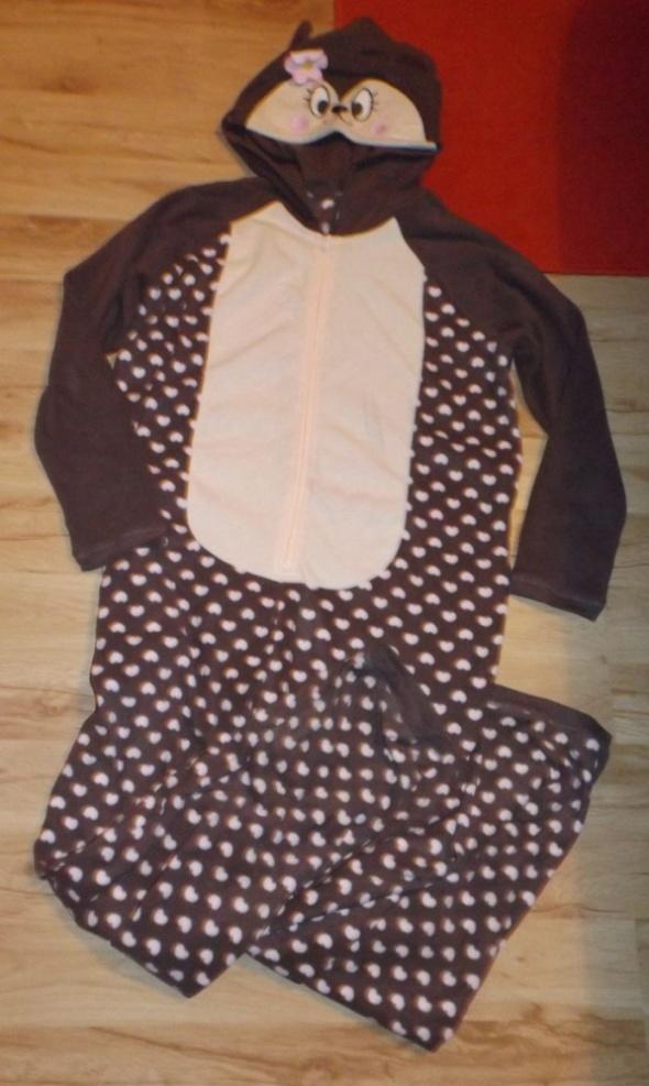 Onesie kigurumi dziewczęce śpioch dres piżama
