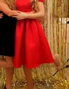 Czerwona elegancka sukkienka Chi Chi London Jade