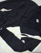 House białe groszki bluza